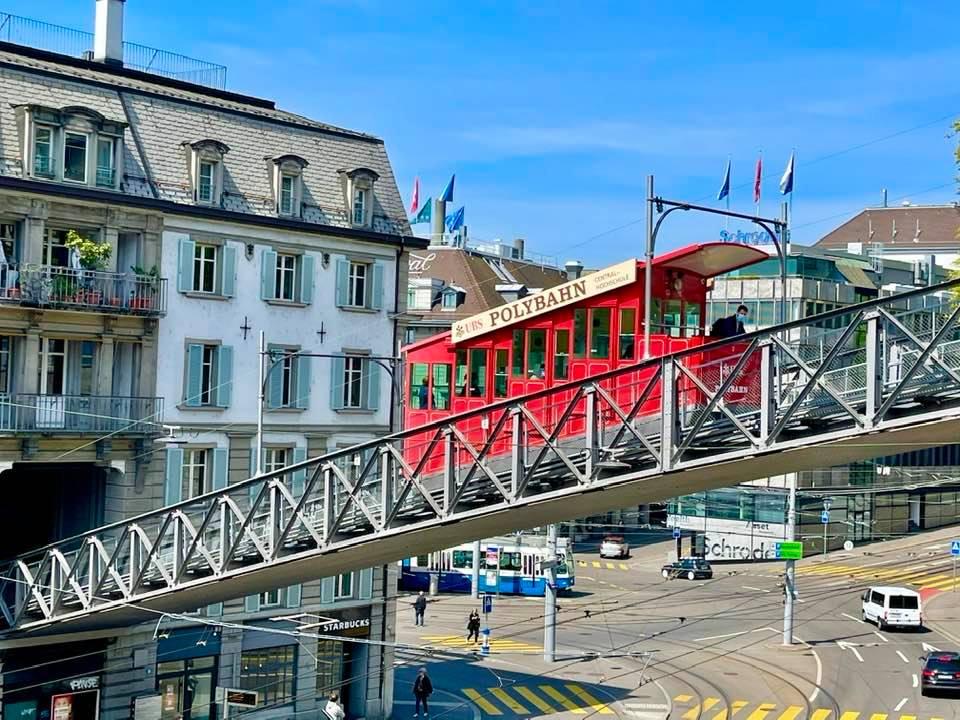 UBS Polybahn Zurich