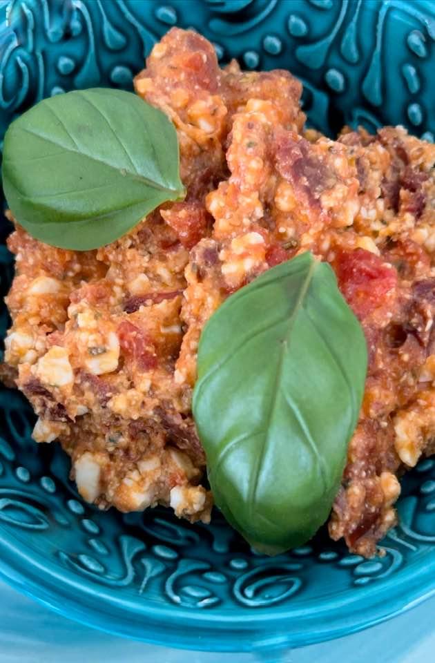 Recipe For Feta and Dried Tomato Spread