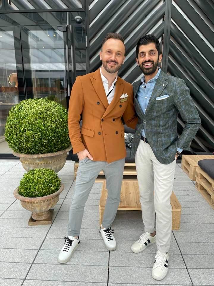 Silva & Sheraz Asif at Jelmoli the circle - personal styling experience