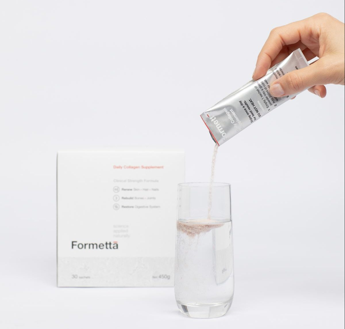 Looking for a Top Quality Collagen Supplement? Discover the benefits of Formettā