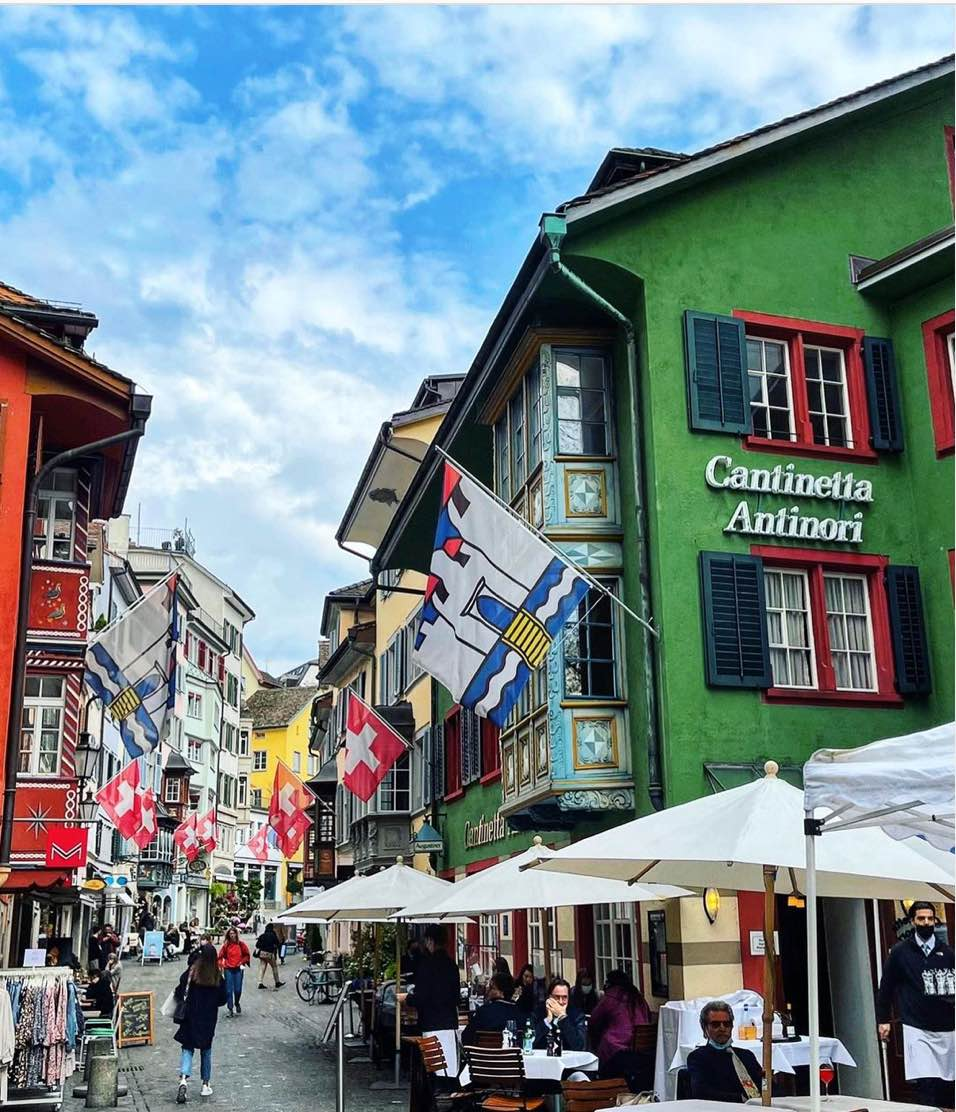 Guide To Restaurants With Outdoor Terraces in Zurich