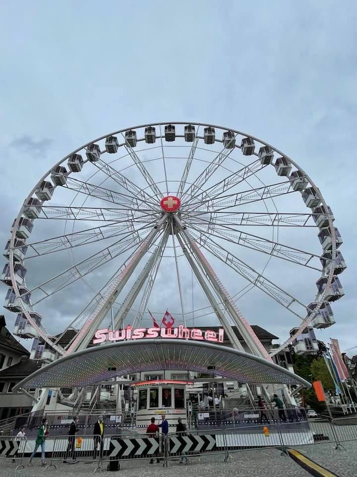 Swiss Wheel - The Biggest Ferris Wheel in Switzerland
