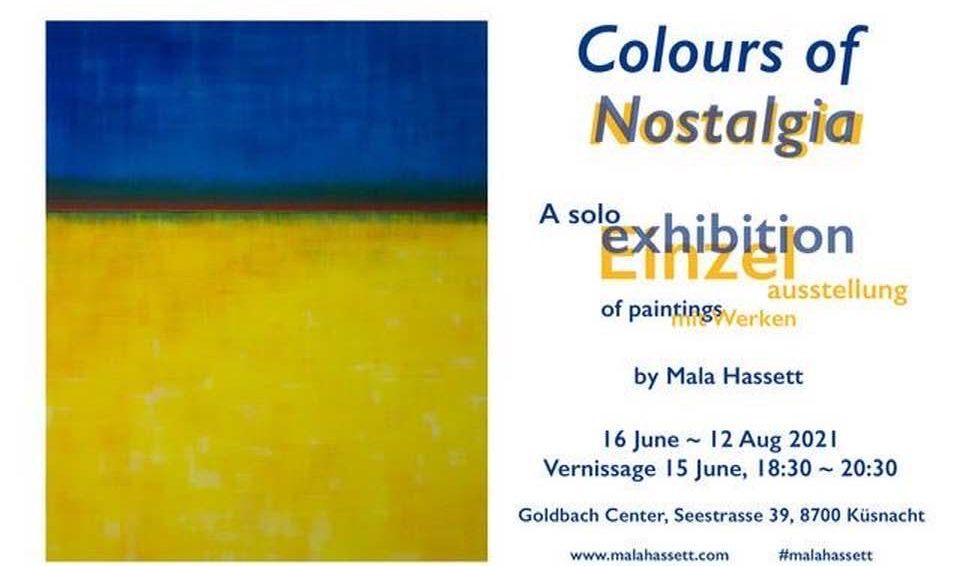 MALA HASSETT NOSTALGIE ART EXHIBITION 16th JUNE - 12th AUGUST: