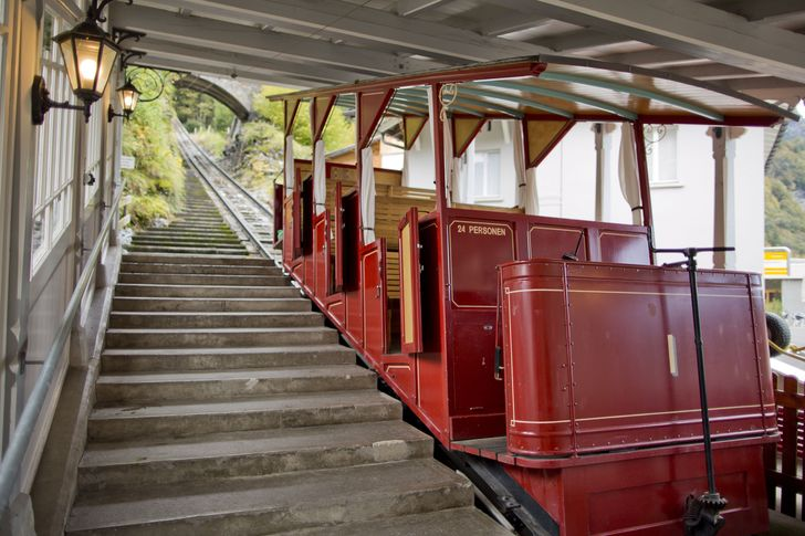 Reichenbachfalls Funicular Haslital