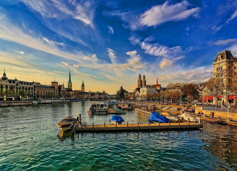 River Limmat Zurich
