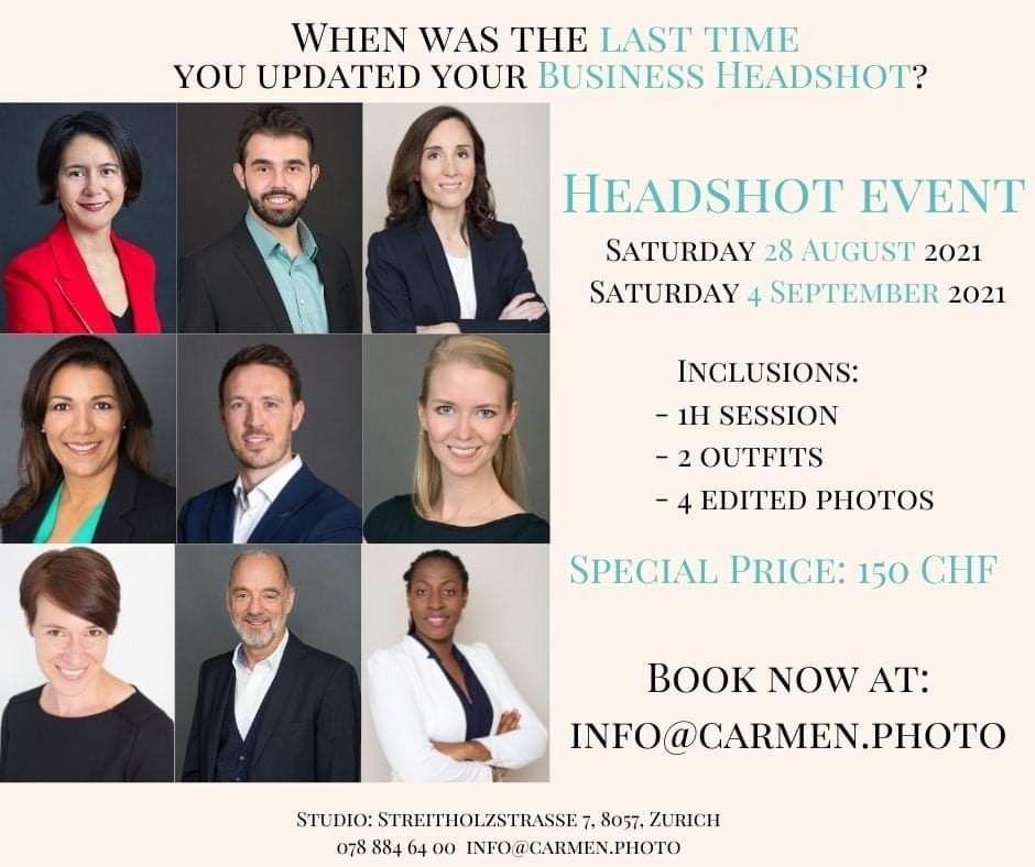 Carmen Photo headshot sessions