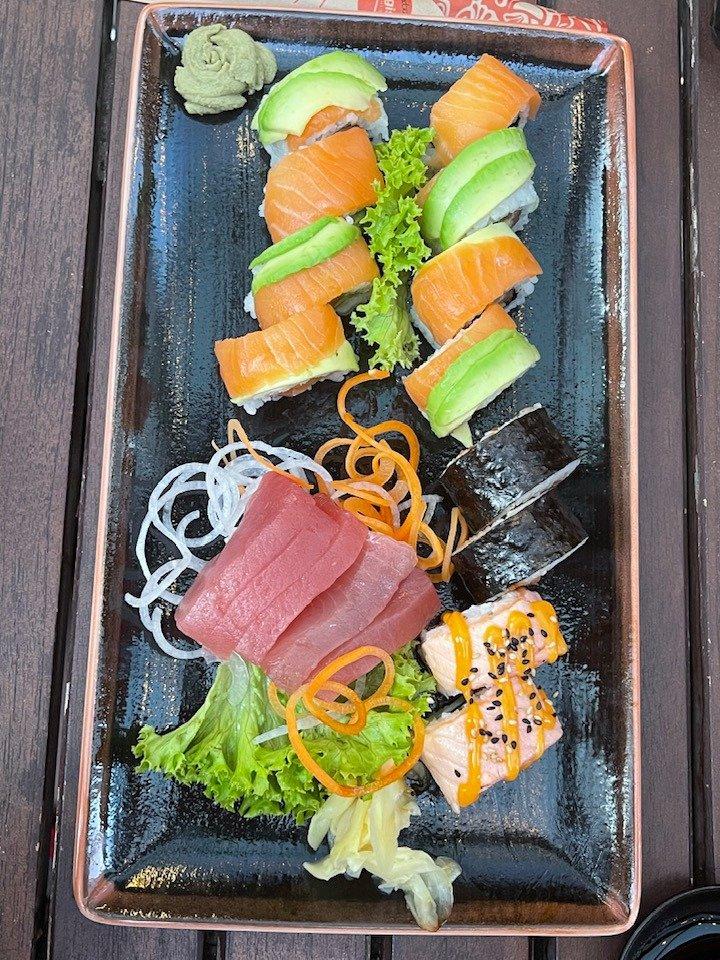 Sushi at Kitchen Republic Zurich