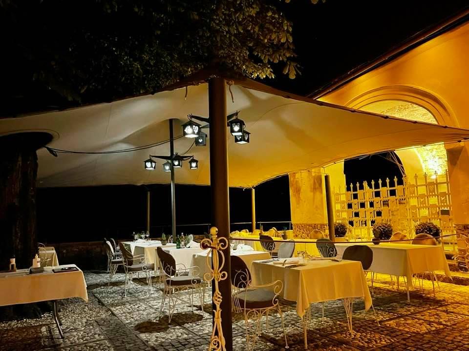 Restaurant at Bled Castle Slovenia