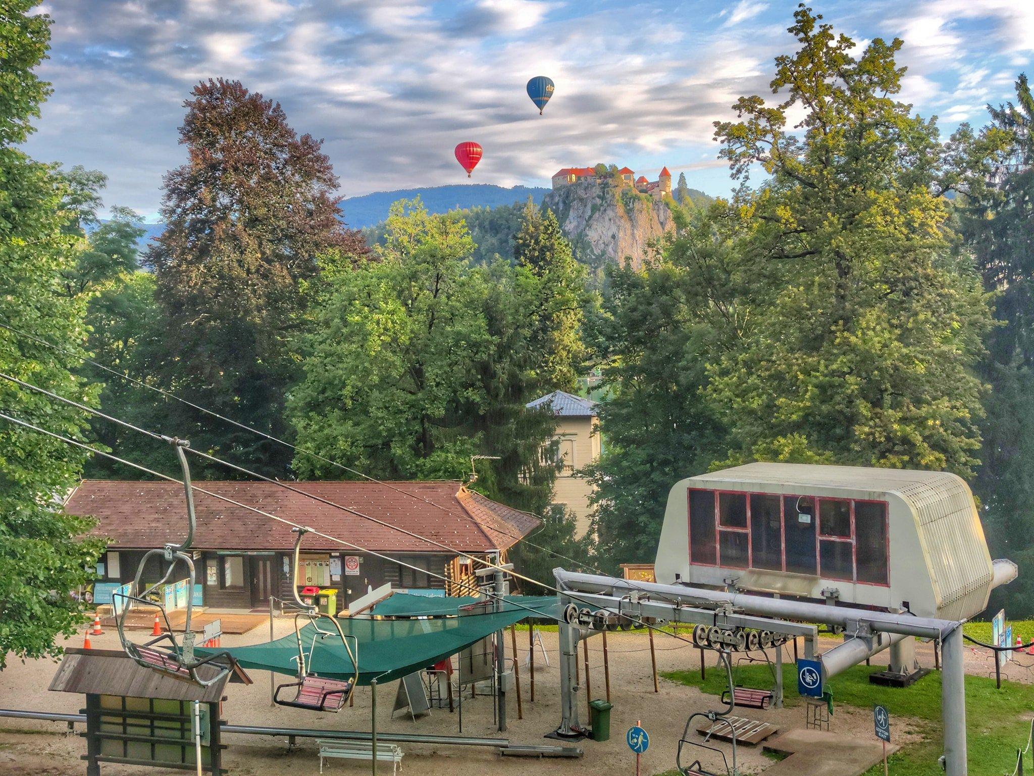 Straža Bled near Lake Bled