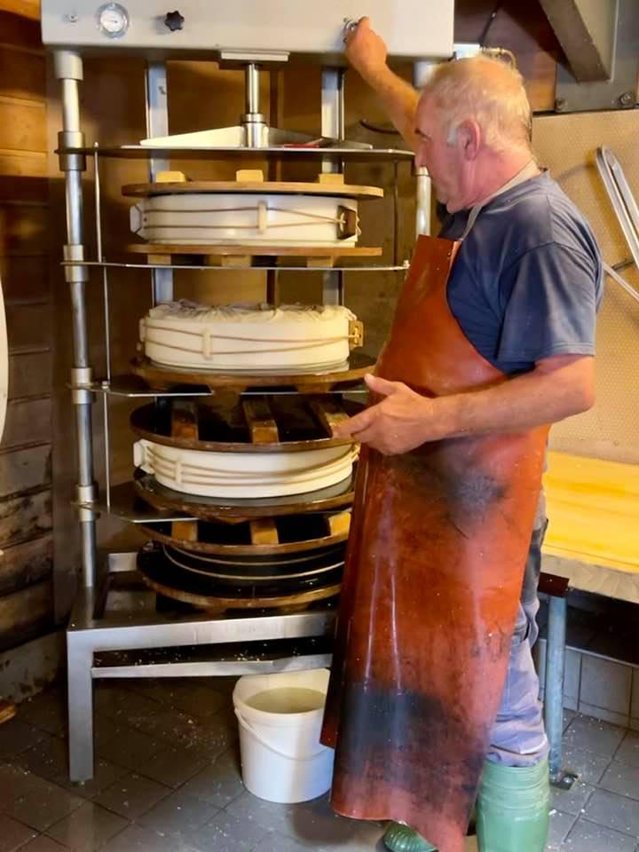 Exploring Canton Vaud - Cheese Making On the Farm in Villars Sur Ollon