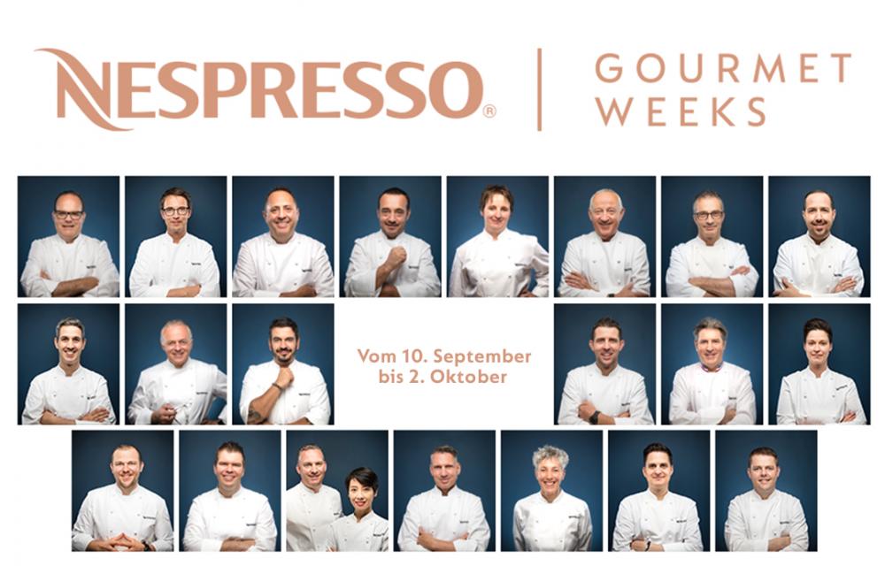 Nespresso Gourmet Weeks - 10th September - 2nd October 2021