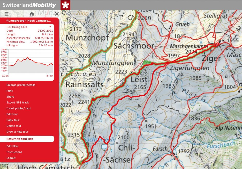 Hiking The First 4 Peaks of the Flumserberg 7 Peak Route