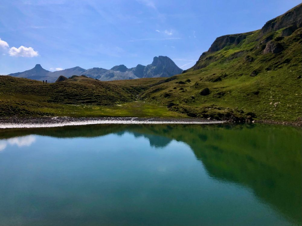 Sächser lake - Flumserberg 7 peaks hike