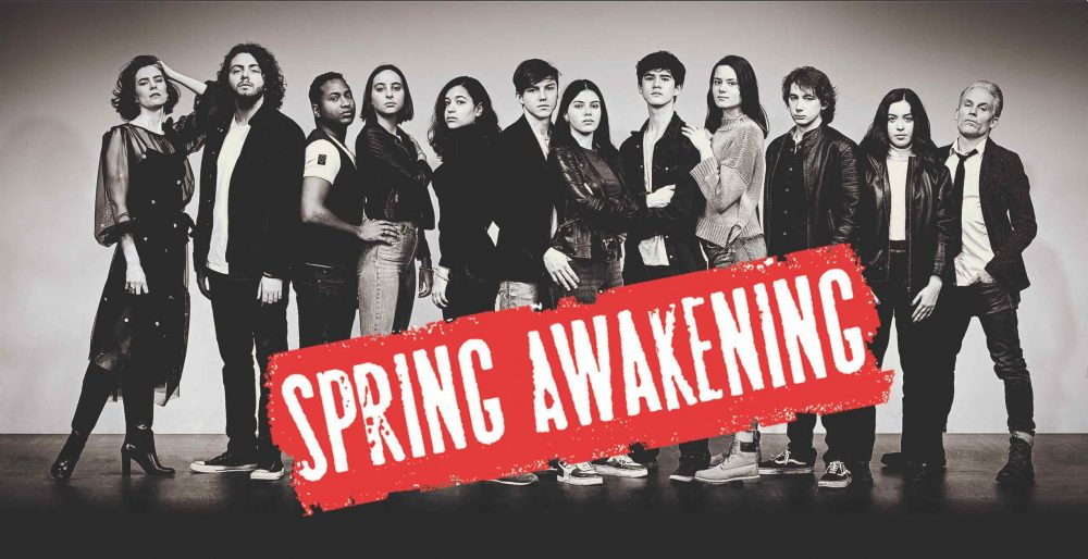 Spring Awakening is about the struggles of teenagers facing the realities of adulthood.