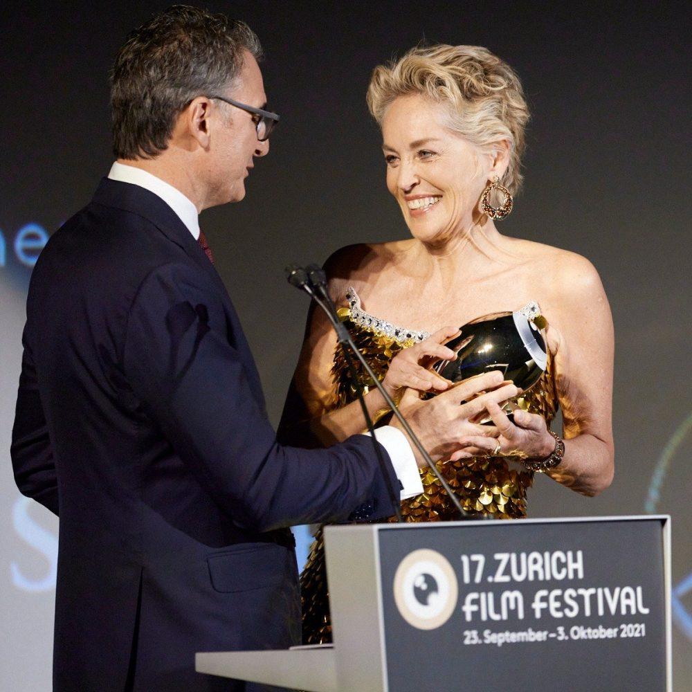Sharon Stone Receives Golden Icon Award At Zurich Film Festival