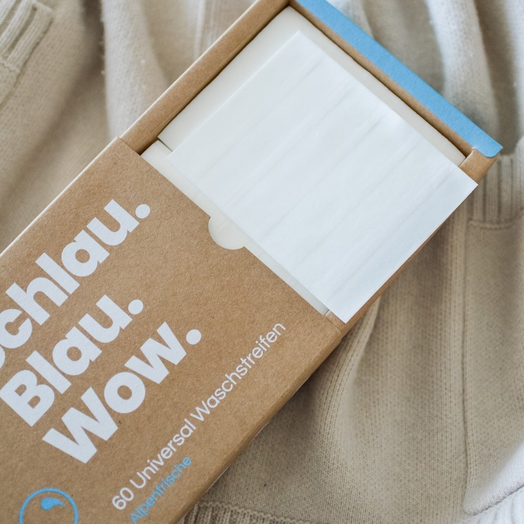 Swiss Swiss Start Up bluu Offers Eco Friendly Washing Sheets