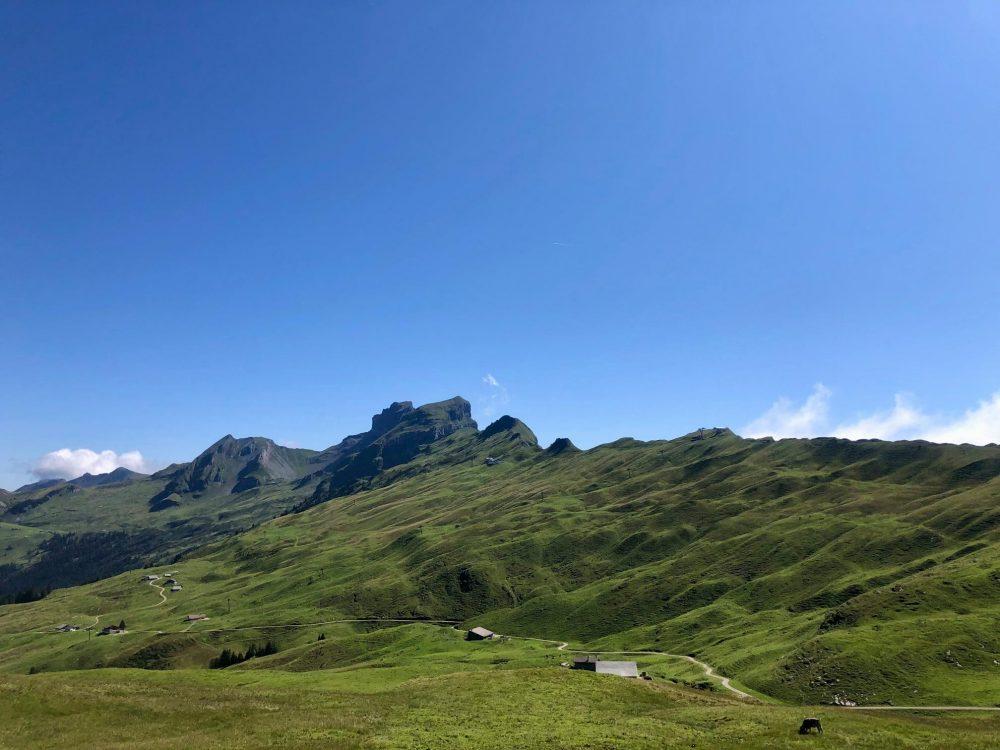Hoch Y'brig Panorama Hike and Ridge Walk