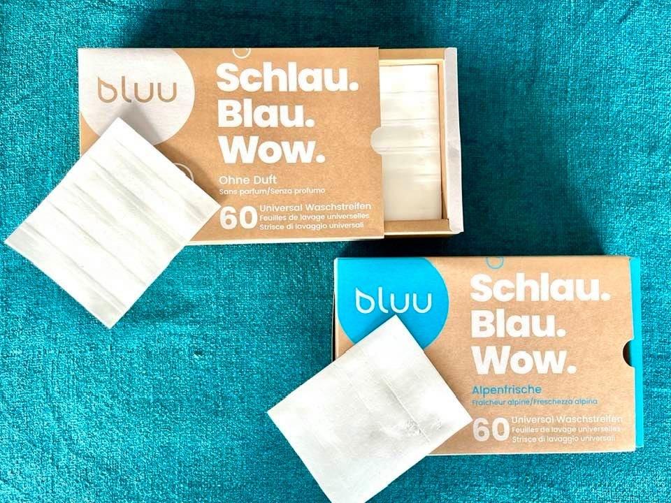 bluu washing sheets