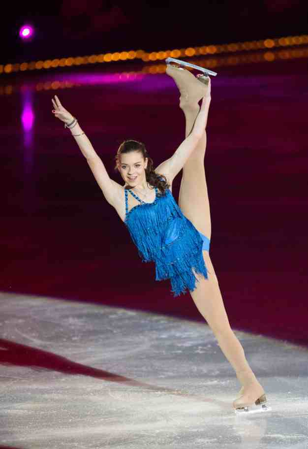 Adelina Sotnikova Art on Ice © Geoff Pegler