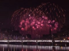 New Year Fireworks in Zurich