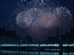 Photos of Zurich New Year Fireworks