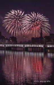 Photos of Zurich New Years Fireworks