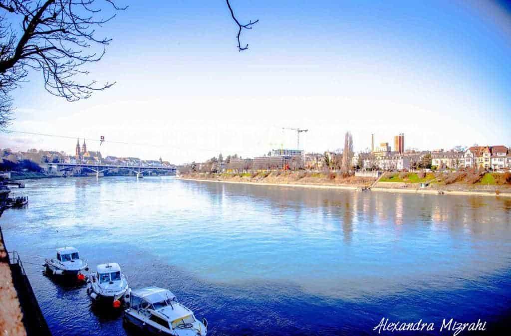 Basel river by Alexandra-Mizrani