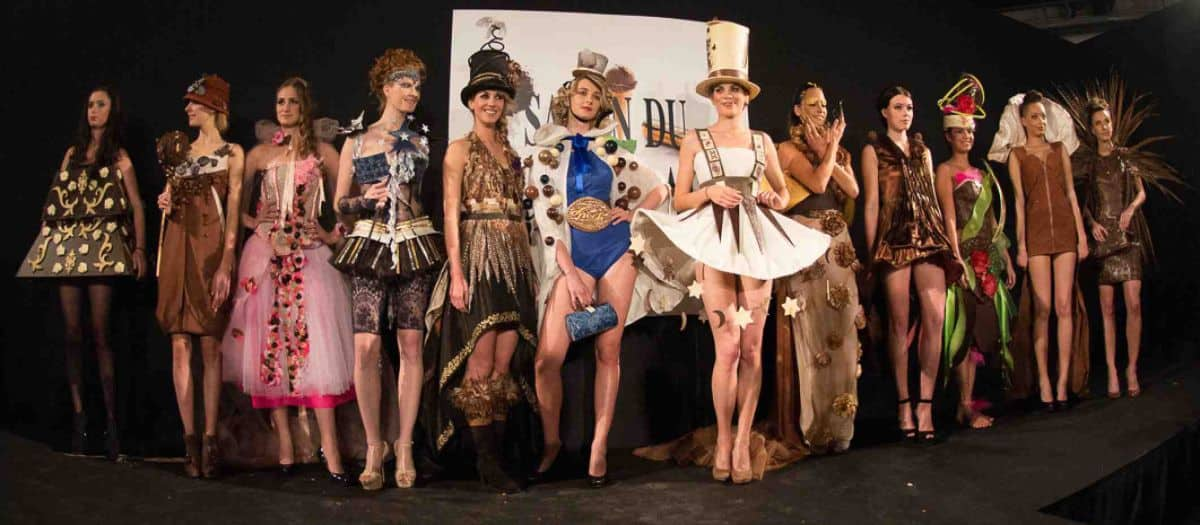 Chocolate Fashion Show Slaon du Chocolat