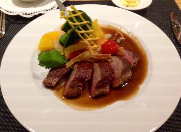 Dining at Priva Lodge
