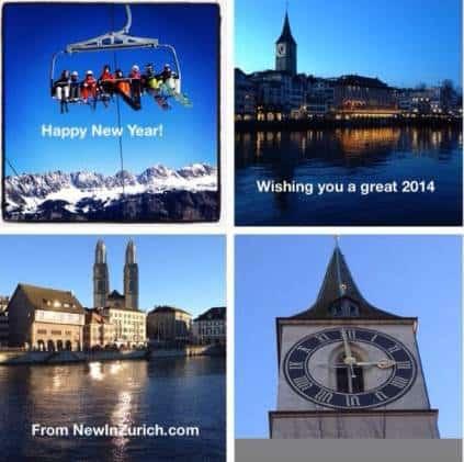 New Year in Zurich