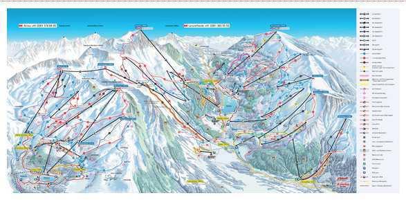Skiing - Lenzerheide Arosa cable car