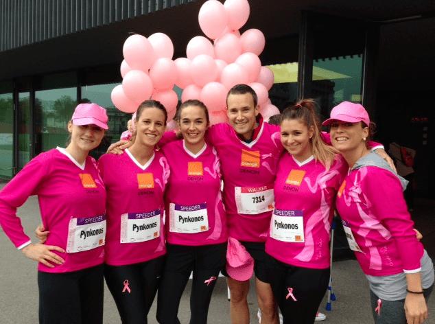 Pink Ribbon Run in Zurich 2013
