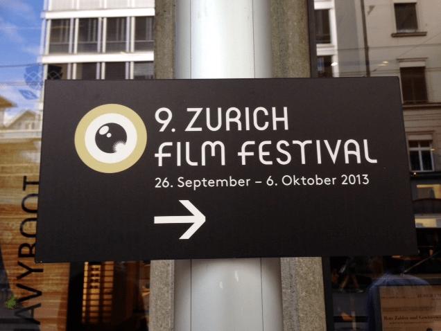 Zurich Film Festival 2013 © NewInZurich.com