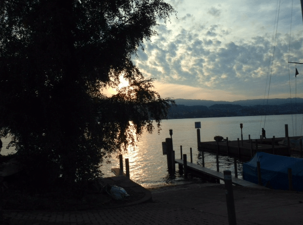 View over Lake Zurich