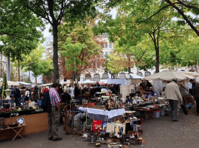 Burkliplatz Market Zurich