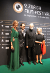 Nadja Schildknecht, Michael Haneke ZFF Awards Night Photo © NewInZurich