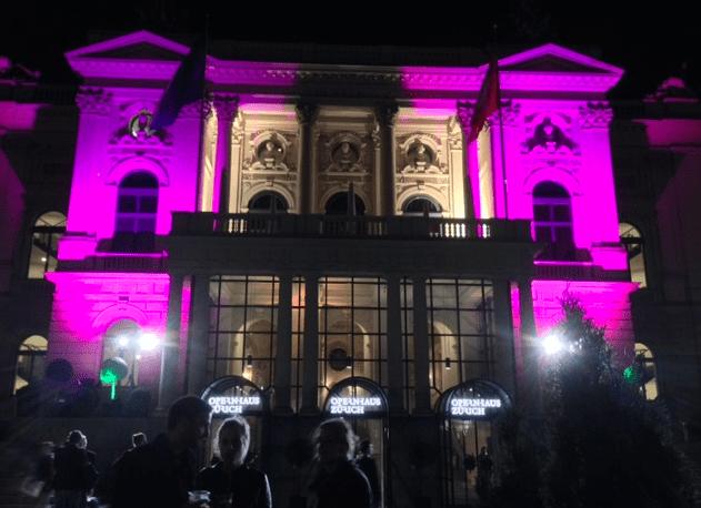 Zurich Opernhaus ZFF Awards