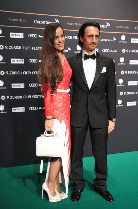 Sandra Bauknecht at Zurich Film Festival Awards 2013