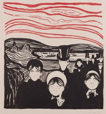 Edvard Munch Exhibition at Zurich Kunsthaus till 12th January