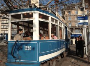 Schoggi-Tram Zurich