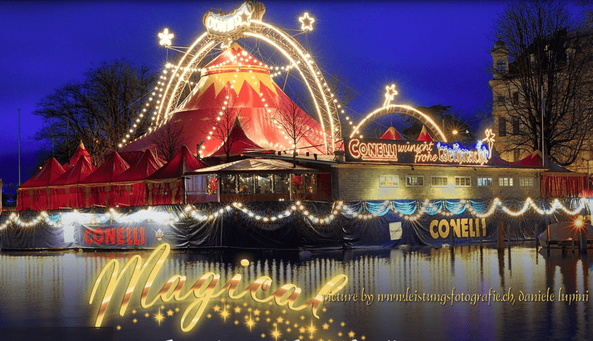 Christmas in Zurich - the Conelli Circus in the Red Top