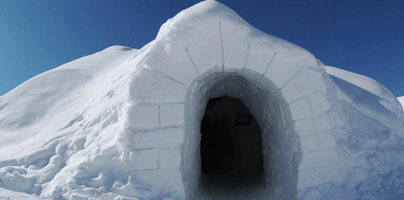 Igloos in Switzerland