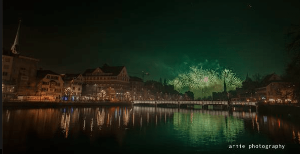 New Year Photos of Zurich