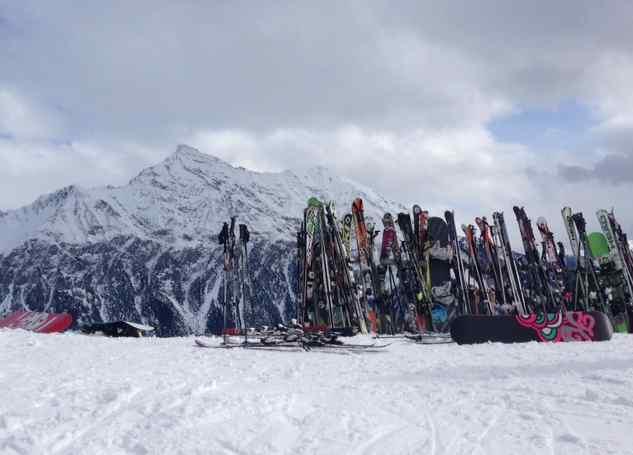 Skiing in Lenzerheide