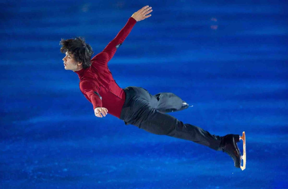 Stephane Lambiel Photo © Geoff Pegler