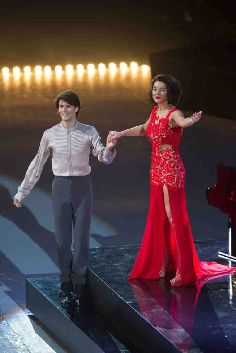 Stephane Lambiel and Khatia Buniatshvili