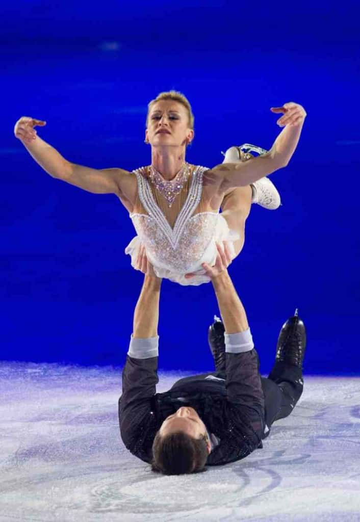 Tatiana Volosozhar and Maxim Trankov. Photo © Geoff Pegler