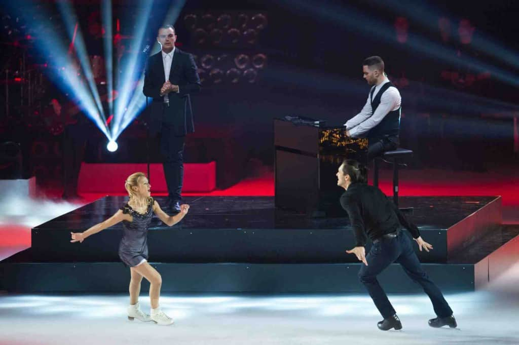 Tatiana Volosozhar and Maxim Trankov and Hurts
