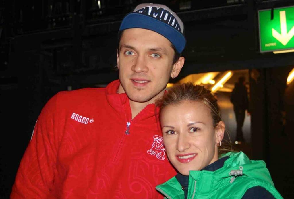 Tatiana Volosozhar and Maxim Trankov Olympic Ice Skating Gold Medallists sochi 2014