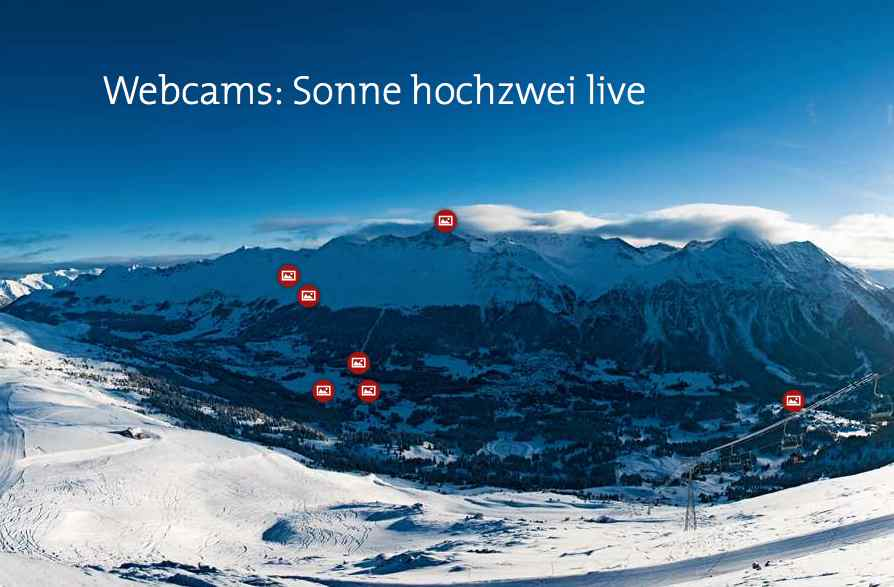 Webcams at Swiss Ski resorts